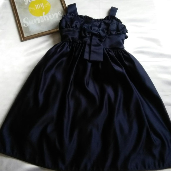 Sugar Plum Dresses Girls Navy Blue Formal Dress Size 6 Poshmark
